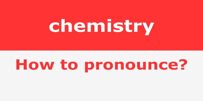 دریافت فایل گویش درست واژه های انگلیسی شیمی