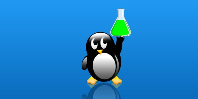لینوکس و نرم افزار های شیمی باز متن