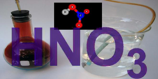 اثر نیتریک اسید بر فلزات