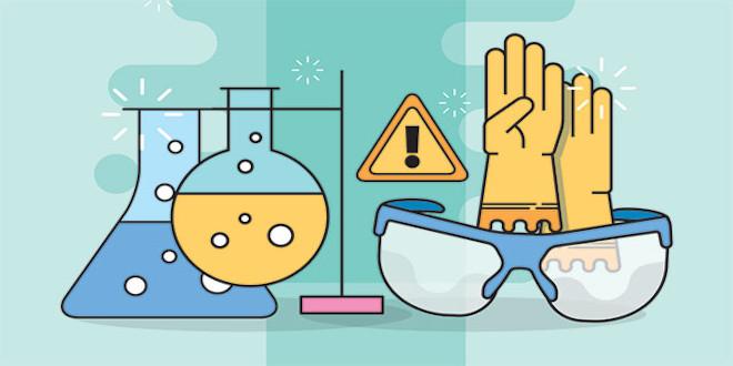 پاورپوینت ایمنی در آزمایشگاه