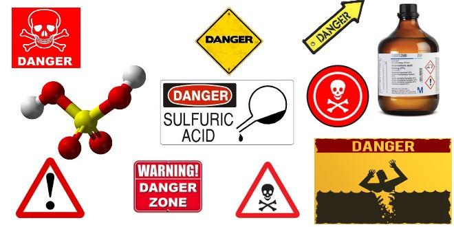 انفجار سولفوریک اسید و پرمنگنات