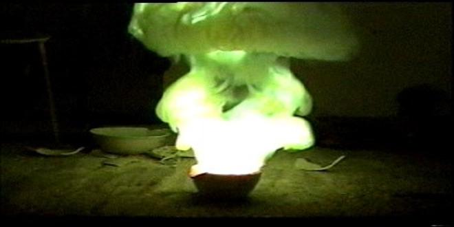 آتش سوزی بوسیله آب